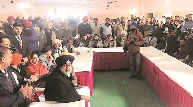 Sukhbir backs accused, asks CM to stand by community