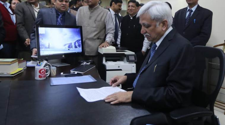 Sunil Arora assumes charge as new Chief Election Commissioner