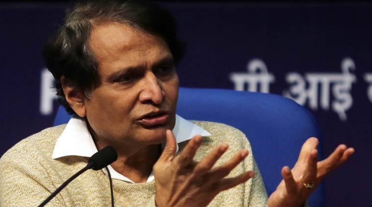 Union Minister for Commerce & Industry and Civil Aviation Suresh Prabhu