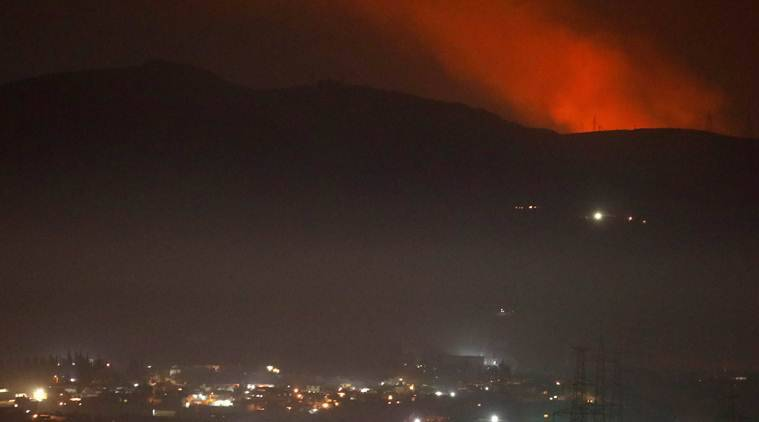 Israeli planes attack targets near Damascus: Syria state media
