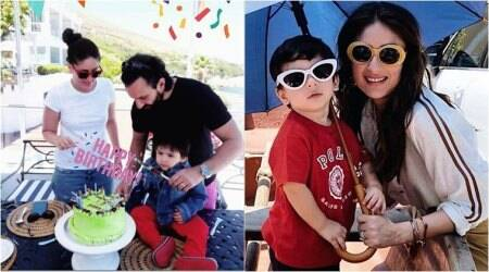 taimur birthday photos