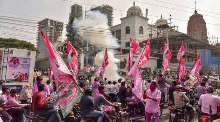 TRS scores thumping win in rural local body polls in Telangana