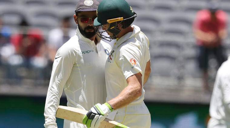 Kohli plays down 'banter' as tempers flare in Perth