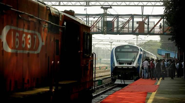 train 18, train 18 fastest train, train 18 speed, india fastest train, make in india, piyush goyal, train 18 inauguration, train 18 schedule