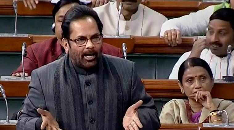 Minority Affairs Minister Mukhtar Abbas Naqvi, Narendra Modi, development of minorities, empowerment, empowerment of weaker sections, educational empowerment, social empowerment, indian express