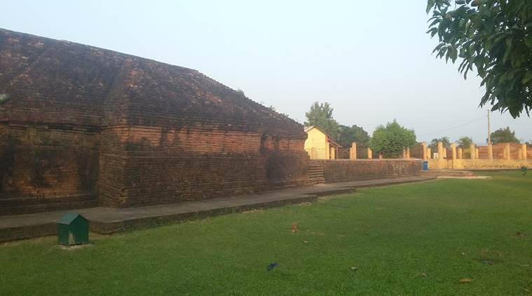When an 8th century stupa was found under a Tripura Eidgah