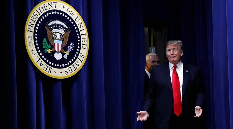 Donald Trump, farm bill trump, trump emmy awards, trump 2005 emmy skit, green acres trump video, indian express, world news