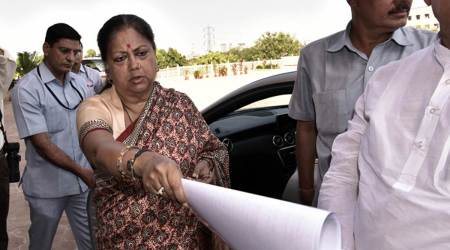 Vasundhara Raje says insulted by Sharad Yadav's 'fat' comment, appeals to EC to take action