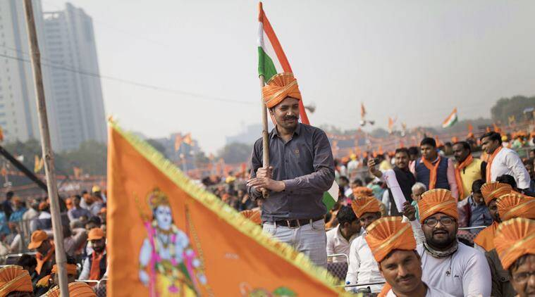 Ahead of 2019 polls, RSS rally pitches for Ram temple in Ayodhya