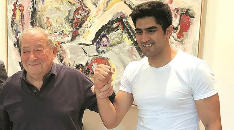 Boxer Vijender Singh's American dream