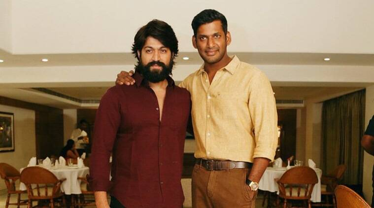 Image result for yash and tamil actor vishal