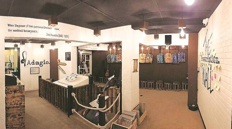 Vinyl records, vinyl nights, Aman Gujral's large, records, jazz and pop, Indian Express