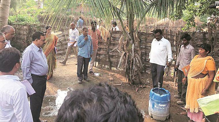 Mission Bhagiratha, Telangana drinking water, Telangana drinking water supply, Telangana water scheme, Mission Bhagiratha Telangana, Telangana government, indian express, latest news