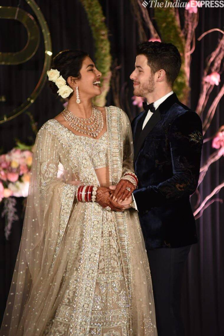 Priyanka chopra delhi wedding reception