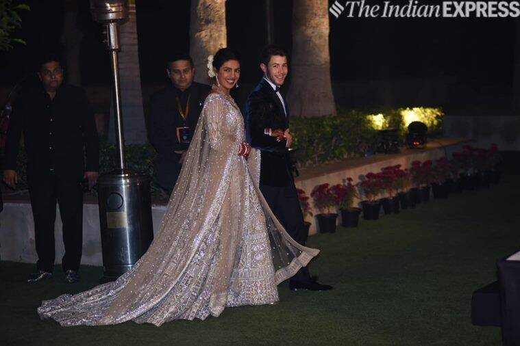 priyanka nick delhi reception