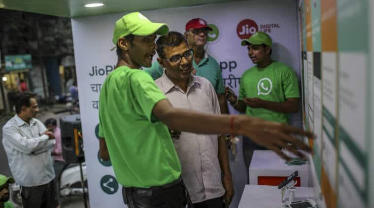 WhatsApp India services, WhatsApp on JioPhone, Reliance Jio subscribers, WhatsApp fake videos, feature phones in India, Jio WhatsApp partnership, false content WhatsApp, Jio user base, WhatsApp awareness, disinformation, Facebook India, WhatsApp