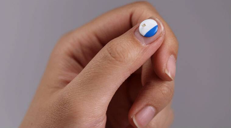 Smallest wearable, smallest wearable device, battery free wearable, wearable without battery, phototherapy