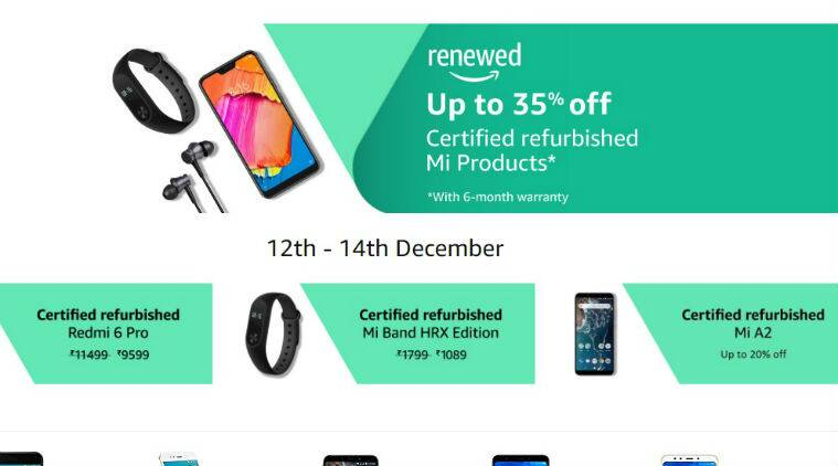 Amazon Renewed sale: Top discounts on refurbished Redmi 6 Pro, Mi A2, and more