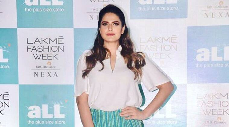 zareen khan files fir