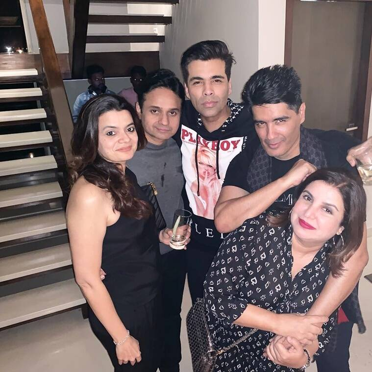 karan johar with manish malhotra
