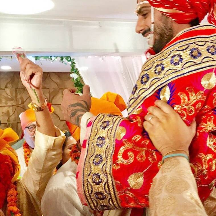 prateik babbar wedding ceremonies