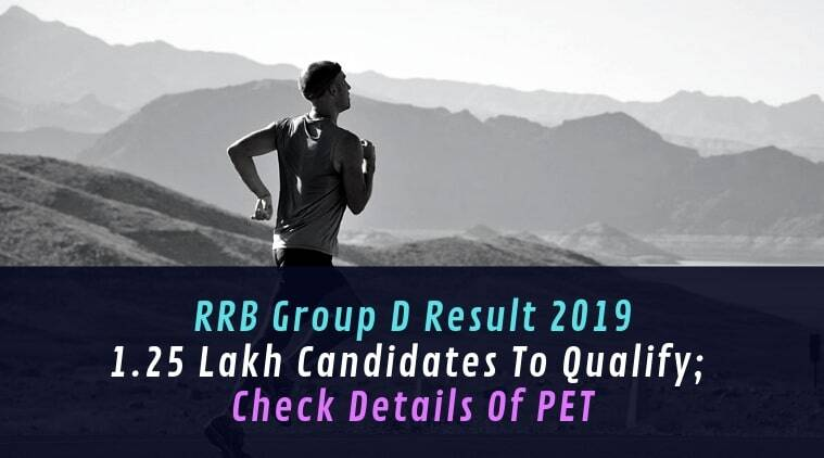 RRB Group D result 2019: 1 25 lakh candidates to qualify