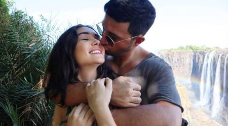 Amy Jackson is engaged, shares photo with boyfriend George Panayiotou