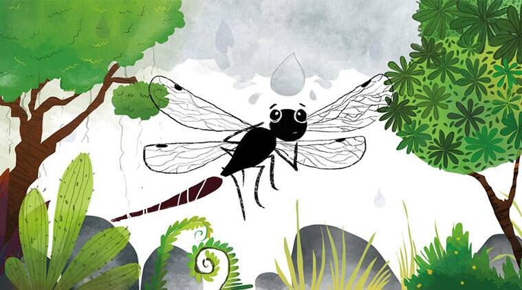 short story for kids, dragonfly
