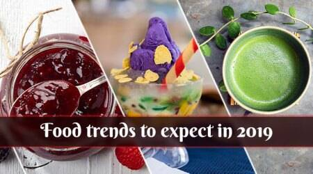 food trends, food trends 2019, organic foods, unpopular cuisines, Filipino cuisine, Peruvian cuisine, non-dairy ice cream, food trends to expect in 2019, food trends to watch out for in 2019, chef Vicky Ratnani, food miniaturist Shilpa Mitha, Ranveer Brar, GO Cheese, ancient Indian ingredients, Grains, Filipino cuisine, millets, amaranth, Nachni, sorghum, Plant-based proteins, vegan food trend, dairy free, mock meat, top food trends of 2019, Matcha powder, Turmeric, Peruvians cuisine, Nut butter, coconut, oat milk, Pinterest, indian express, indian express news