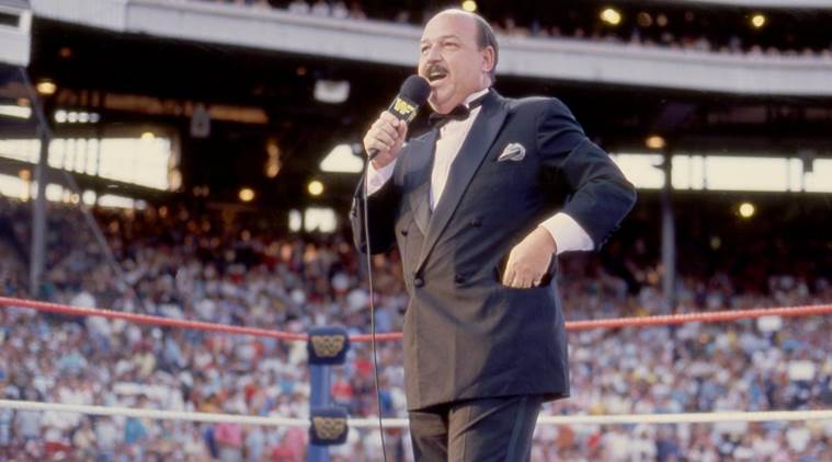 Gene Okerlund passed away at 76. (Source: WWE)