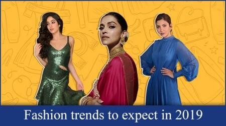 Fashion trends to expect in 2019, fashion trends of 2019, fashion trends to watch out for in 2019, Sequins, Metallics, Rocky S, Aishwarya Rai Bachchan, Aastha Sharma, top fashion trends of 2019, Shilpa Shetty, Amit Aggarwal, Statement sleeves, Bold shoulders, puff sleeves, cape sleeves, mutton sleeves, Matching separates, athleisure , Street style, Pantone colour of the year, Living Coral, Heavy jewellery , Akanksha Chowdhry, Nayirah, Laksheeta Govil, Fizzy Goblet, Calvin Klein, Fendi, Isabel Marant, cow girl boots, Devki Bhatt, Alberta Ferretti, celeb fashion, bollywood fashion, indian express, indian express news