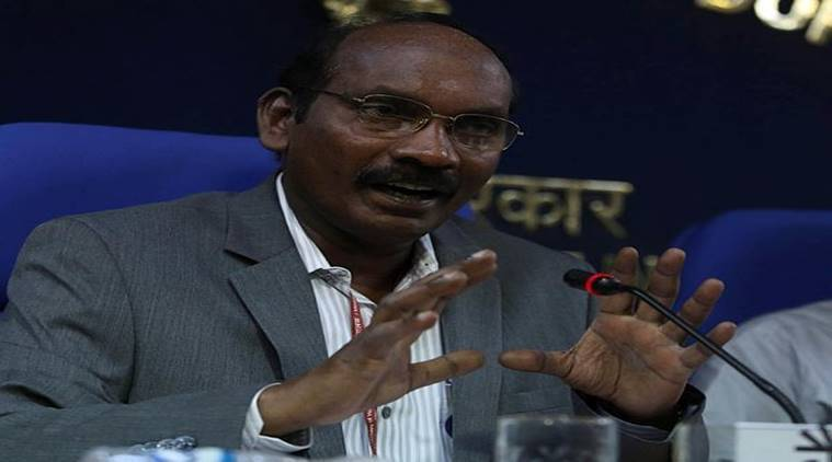 K Sivan, ISRO chairperson, ISRO job Samwad with Students, education news, idian express