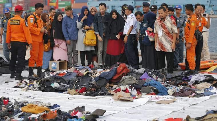 Lion air crash, Indonesia Lion air crash, Lion air Indonesia, Lion air crash java sea, java sea, JT610 crash, JT610 air crash, Indonesia JT610 air crash, world news, latest news