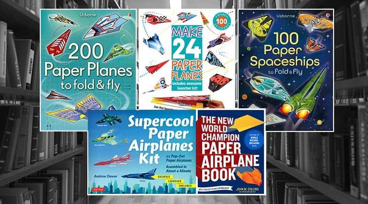 DIY for kids, paper planes