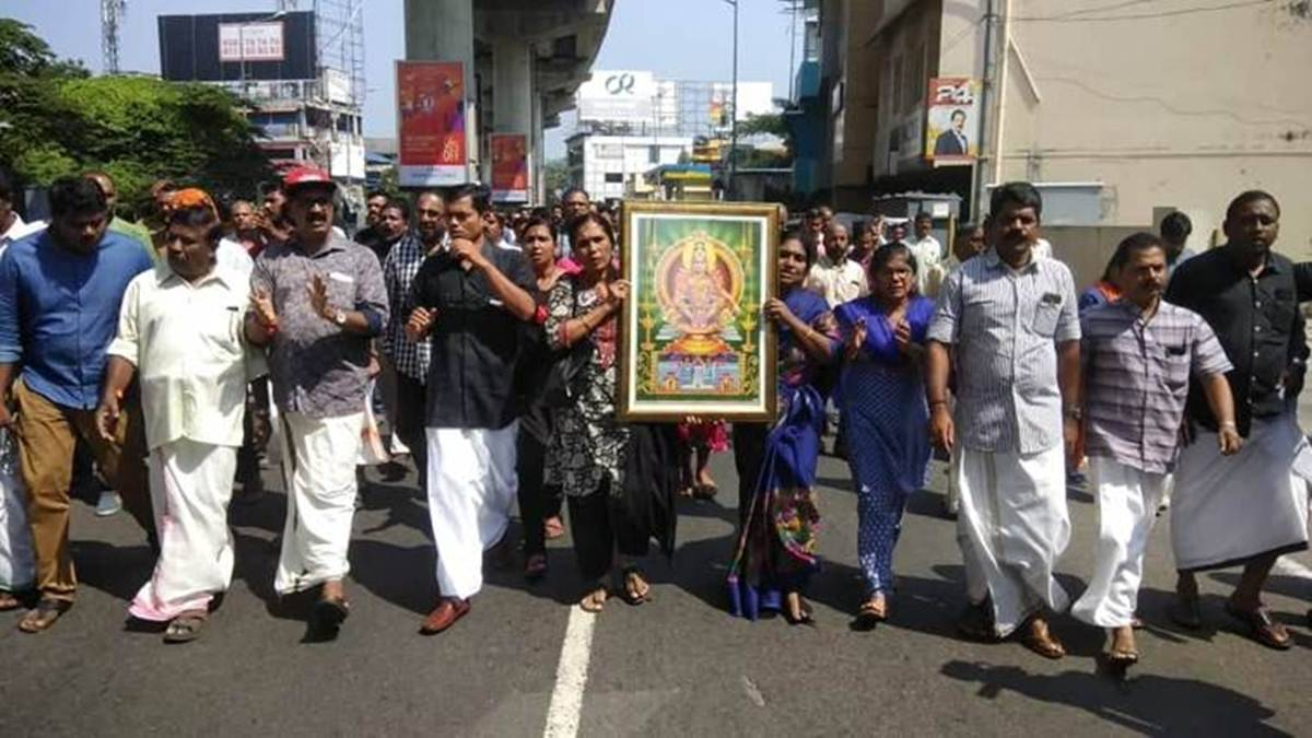 Kerala shutdown over Sabarimala protests