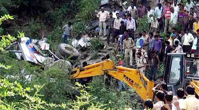 odisha, odisha accident, truck falls in gorge, eight killed, naveen patnaik, police, kandhamal district, indian express news