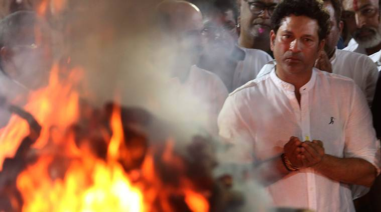 Sachin Tendulkar to Vinod Kambli, tears flow freely at farewell to guru