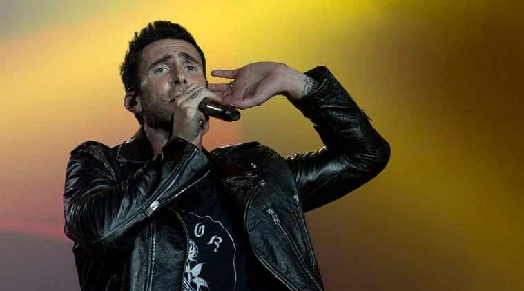 Adam Levine of Maroon 5 performs at the Rock in Rio music festival in Rio de Janeiro, Brazil.