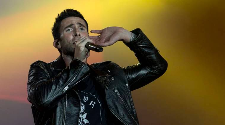 Adam Levine of Maroon 5 performs at the Rock in Rio music festival in Rio de Janeiro, Brazil.