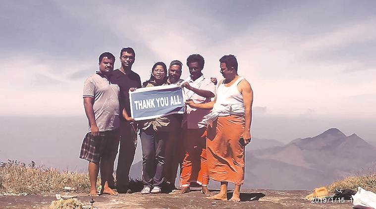 Kerala: I&B staffer becomes first woman to reach Agasthyakoodam peak