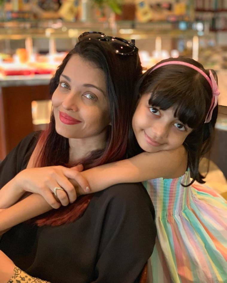 aishwarya and aaradhya