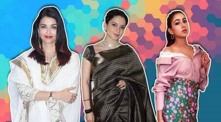 Aishwarya Rai Bachchan, Kareena Kapoor Khan, Deepika Padukone, Kangana Ranaut, Janhvi Kapoor, Sara Ali Khan, Katrina Kaif, Taapsee Pannu, Aditi Rao Hydari, Yami Gautam, celeb fashion, bollywood fashion, indian express, indian express news