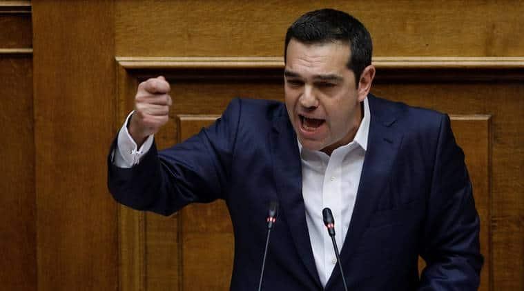 Alexis Tsipras, Greece, Greece Alexis Tsipras, Macedonia, Macedonia Greece, Macedonia name change, Confidence vote greece, greece news, Panos Kammenos, North Macedonia, Republic of North Macedonia, World news, Indian express, latest news
