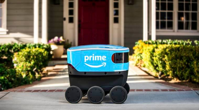 Amazon testing delivery by self-driving robots