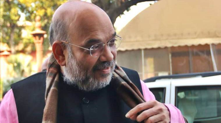 BJP chief Amit Shah was discharged from AIIMS on Sunday. (Express photo/File)