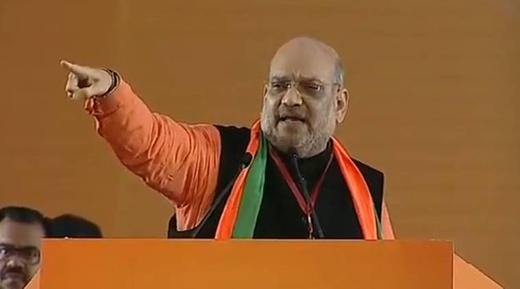 Grand alliance by opposition has no influence, together merely for power: Amit Shah