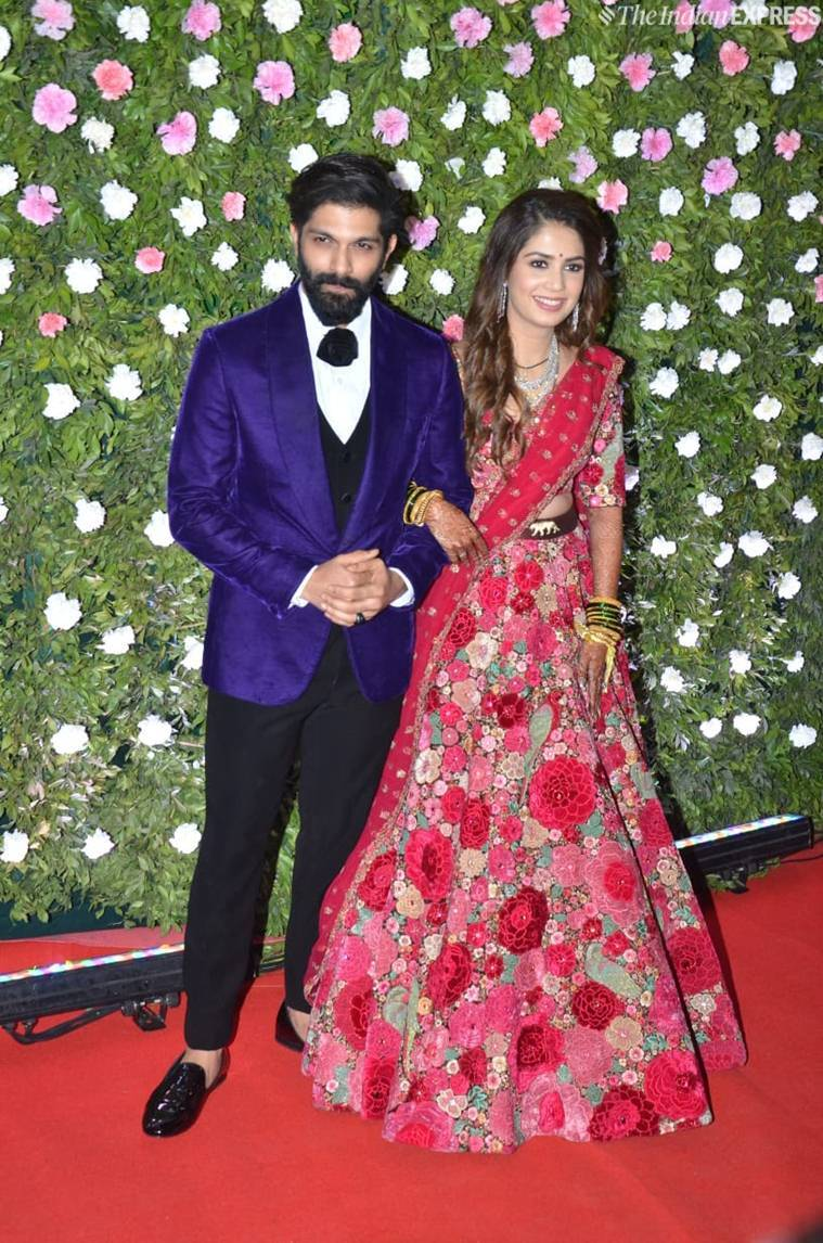 amit thackeray wedding reception