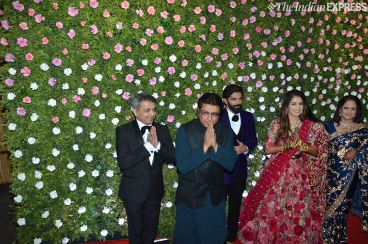 Amit Thackeray wedding reception