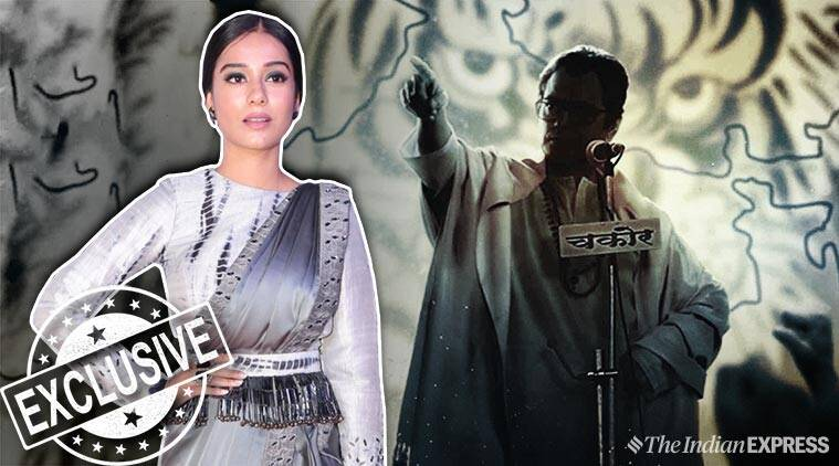 Amrita Rao on Thackeray biopic