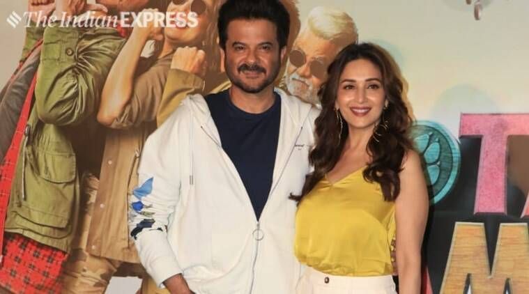 anil kapoor madhuri dixit at total dhamaal trailer launch